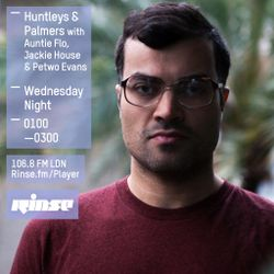 Auntie Flo presents H&P on Rinse FM - Aug 2015 w/ Jackie House + Petwo Evans