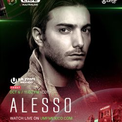 Alesso LIVE @ Ultra Music Festival Mexico 2017 Day 1