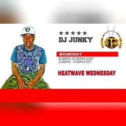 DJJUNKY HEATWAVE WEDNESDAY ON @RTMRADIO_NET LIVE AUDIO VOL.20