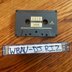 The Hip Hop Spot w/WildMan Steve & DJ Riz 90.3 WBAU March 21, 1994