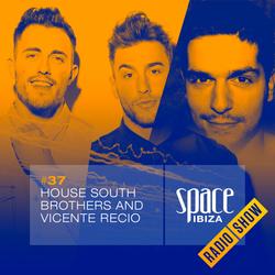 House South Brothers and Vicente Recio at Café Olé - September 2014 - Space Ibiza Radio Show #37
