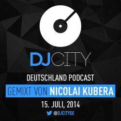 Nicolai Kubera - DJcity DE Podcast - 15/07/14