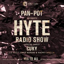 Pan-Pot - Hyte on Ibiza Global Radio Feat. Cuky - September 7
