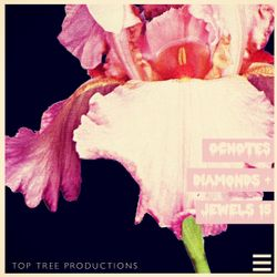 OCnotes Top Tree Diamonds & Jewels Mix #15