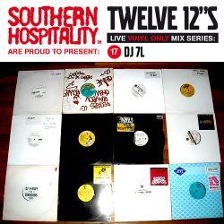 Twelve 12's Live Vinyl Mix: 17 - DJ 7L
