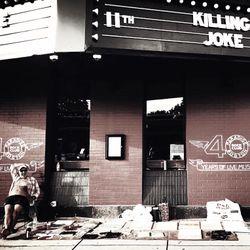 Killing Joke pre show intro Youth Boston
