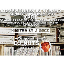 ADVENTURES IN STEREO w/ DJ NUTS