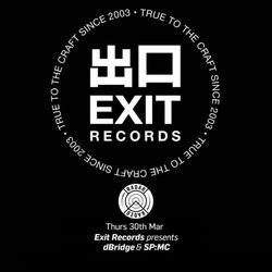 dBridge featuring SP:MC (Exit Records) @ Exit Records Radio Show, Radar Radio - London (30.03.2017)
