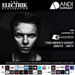 Electrik Playground 29/8/15 : Arty Guest Mix