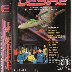 DJ Rap & MC GQ @ Desire Star Trekkin - 11th May 1996