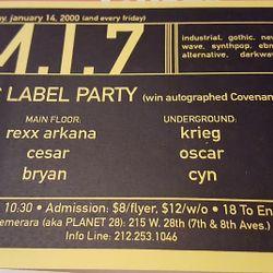 DJ Rexx Arkana - MI7 - January 14, 2000 - Side B