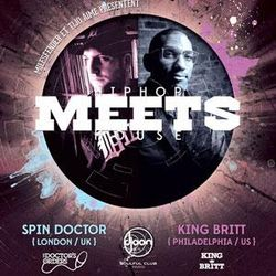King Britt @ Meets, Djoon, Friday June 7th, 2013