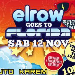 Uto Karem @ Elrow goes to Florida - Singer Mornings - 12.11.2011