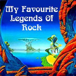 My Favourite Legends Of Rock, feat Jimi Hendrix, Led Zeppelin, Pink Floyd, Deep Purple, David Bowie,