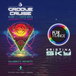 Kristina Sky Live @ GrooveCruise Miami 2020 (Pure Trance Night)