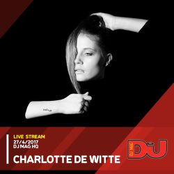 Charlotte de Witte Techno DJ set Live from DJ Mag HQ 27/4/2017