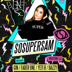 YETI presents SOSUPERSAM (Soulection) LIVE @ Arkham Shanghai