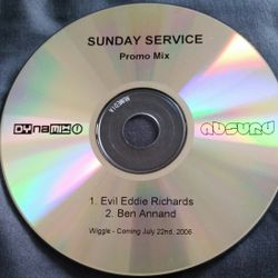 Evil Eddie Richards & Ben Annand - Sunday Service (promo mix) 2006