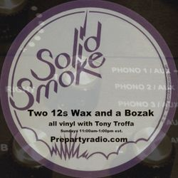 Two 12s Wax and a Bozak Show  12-18-16 Edition with Tony Troffa