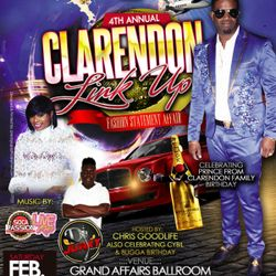 CLARENDON LINK UP 4TH ANNUAL FEB 17TH 2018 PROMO CD FEAT @DJJUNKY X DJ SNIPER X VERSITILE X EXCESS G