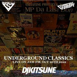 DJ Kitsune - Underground Classics (Live On Jam FM, Oct 10th, 2012)
