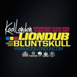 LIONDUB FT. BLUNTSKULL - 08.08.18 -  KOOLLONDON [JUNGLE DRUM & BASS]