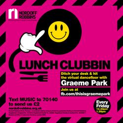 This Is Graeme Park: Nordoff Robbins Lunch Clubbin' 08MAY 2020 Live DJ Set