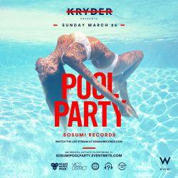 Kryder LIVE @ Miami Sosumi Pool Party 2018