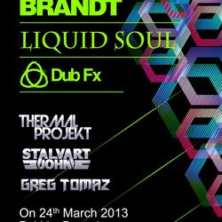 Opening Set for Sebastian Brandt - Liquid Soul - Dub Fx @ Pebble Bangalore