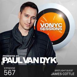 Paul van Dyk's VONYC Sessions 567 - James Cottle