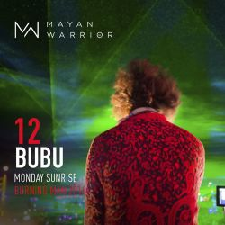 Bubu - Mayan Warrior - Monday Sunrise - Burning Man - 2016