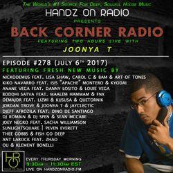 BACK CORNER RADIO: Episode #278 (July 6th 2017)