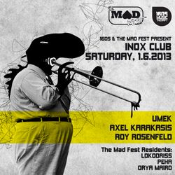 1605 Live Mix / Roy RosenfelD / Inox Club, Toulouse / 1.6.2013