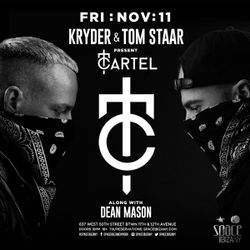 Tom Staar & Kryder Live @ Space NYC Nov 2016