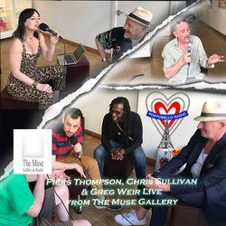 Portobello Radio Radio Show Ep 138, with Piers Thompson, Chris Sullivan & Greg Weir: In The Throngs.