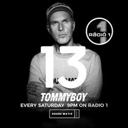Tommyboy Housematic on Radio1 ( 2018-09-15 ) R1HM13