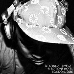 DJ Spinna - DJ Set @ Editions Hotel London, 2015
