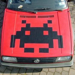 Space Invader Radio AGM Countdown