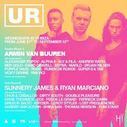 Sunnery James & Ryan Marciano LIVE @ #DJMagHQ Ibiza 13/09/2017