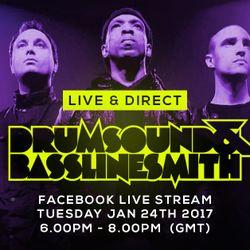 Drumsound & Bassline Smith - Live & Direct #22 [24-1-2017]