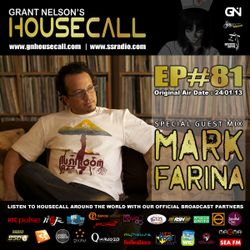 Housecall EP#81 (incl. a guest mix from Mark Farina)