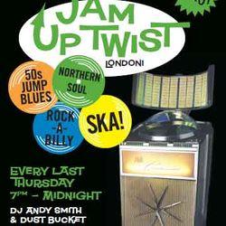 Jam Up Twist at Fellow Bar,124 York Way,London Every last Thursday with DJS Andy Smith & Dustbucket