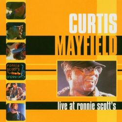 This programme is special & features Curtis Mayfield Live at Ronnie's, chatting & playing in 1988