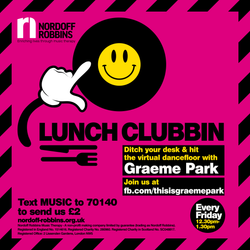 This Is Graeme Park: Nordoff Robbins Lunch Clubbin' 15MAY 2020 Live DJ Set