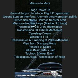 """MISSION TO MARS "" Exclusive Guest Session by Tim Humphrey"