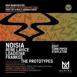 The Prototypes (Viper Recordings) @ Mantra Festival Warm Up Mix (25.01.2016)