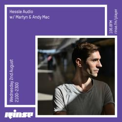 Martyn - Hessle Audio show RINSEFM Aug 2017