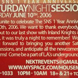 Leonard - Live @ SNS 1yr Anniversary 6-10-06