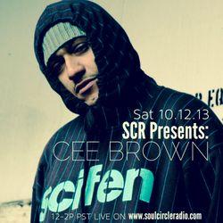 SCR Presents DJ Cee Brown