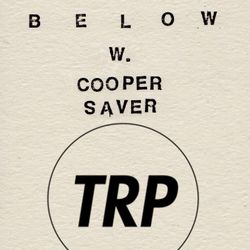 LOVE BELOW w COOPER SAVER - JULY 29 - 2015